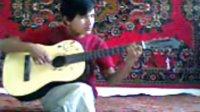 吉他,自己唱的歌