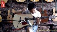 【吉他之声】乐器 FALIDA 法丽达 D52全单板民谣吉他