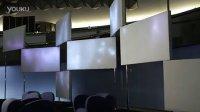 Luminous textile - Congress Center