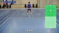 羽球基础步法4_米字步-全场移位步法上