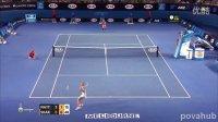 2014 澳大利亚网球公开赛 R1 莎拉波娃vs马泰克 HL