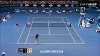 2014 澳大利亚网球公开赛 R3 莎拉波娃vs科内特 HL