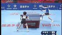 2012年奥运热身赛 李晓霞vs杨扬