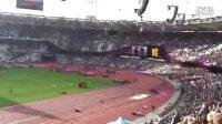杨幂在伦敦奥运赛场