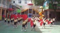 2012年山东省建设厅幼儿园六一儿童节蒙大班早操展示《中国功夫—红扇操》