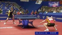 2012世锦赛 男团四分之一决赛瑞典VS德国 第三场格雷尔VS鲍姆精彩剪辑