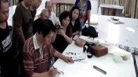 祁恩进老师在中国工笔画学会培训部教学1
