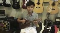 烏克麗麗 教學 範例曲 寶貝 的彈奏示範 ukulele