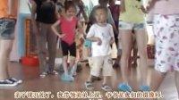 姐姐带两岁半的弟弟敖岩上幼儿园 课堂视频2011.8.