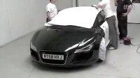 车身贴膜 Audi R8 亮光白