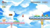 New Super Mario Bros. Wii U Walkthrough - Part 4 Layer Cake