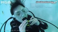 美女潜水花絮3