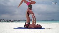 Acrobatic Yoga in Cancun