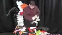 v731 小人的变化 魔术气球教程 魔法长条气球制作教学 淘宝幻彩气球QQ1078052200
