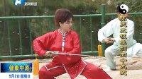 徐勤兰陈氏太极单剑电视教学 2012年9月2日