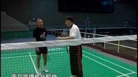27.【羽毛球训练课】前场移动步法_网前反手扑球技术