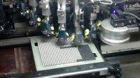 三星贴片机高速贴片机客户工厂实拍富士CP642生产显示屏板