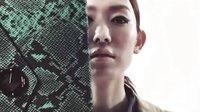 韩国模特示范trench coat搭配