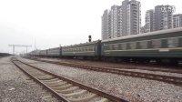 L715次绿皮大列到达贵港站