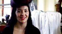 伦敦时装周 - Elisa Palomino选用Alcantara欧缔兰系列时装