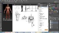 CG帝国游戏原画论坛-原画设计视频教程-人体结构难点汇编II