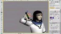 CAT单手拿武器 游戏动画教程01