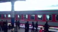 K215进延吉火车站