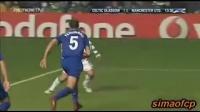 欧冠小组赛第四轮 C罗劲射吉格斯头球补门 曼联1比1凯尔特人