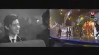 SJ金希澈受伤后首次登台表演时台下的神起和韩庚