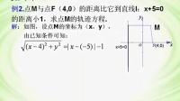 第八章第8  35节抛物线及其标准方程⑵