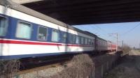 萧甬铁路HXD3C 0273牵引K466次 绍兴柯桥区柯桥特大桥东侧引桥拍车 萧甬线