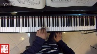 伞兵—约翰.汤普森简易钢琴教程第一册