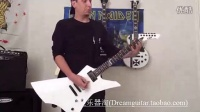 ESP LTD SNAKEBYTE Metallica主唱James Hetfield签名款