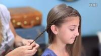 How To Create Zig-Zag Twistbacks - Cute Girls Hairstyles