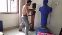 咏春木人桩练习-搏酷健身 丁凯杰