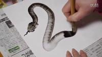 牛人一笔画一条蛇