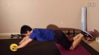 腹肌轮训练