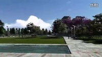介绍-lumion作品欣 动画欣赏国外某社区广场景观设计方案
