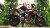 摩托车之家-2014款阿古斯塔MV Agusta Rivale 800摩托试驾