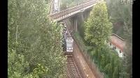 2012-08-14 宝成线 北京西 - 成都 T7次列车通过宝鸡西关