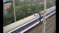 2012-08-16 北京西 - 成都 T7次列车出宝鸡站 补机西局新段HXD3-0177