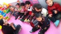 红光农场幼儿园小班(2)刁稼霖宝宝和小朋友活动视频3