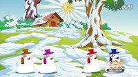 【老文头英文儿歌】Five Tubby Snowmen