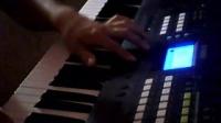 电子琴演奏—爱的世界只有你