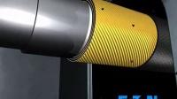 美国伊顿Aeroquip GH506 4SP胶管扣压三维演示