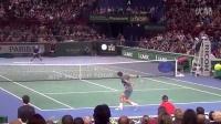 费德勒巴黎大师赛平视角度视频