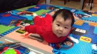 20140318穿红衣的小桃子有新地毯了