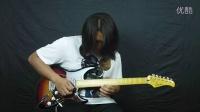 吉他之声  法丽达电吉他FBS-26演奏新曲《女朋友会武术》