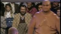 第一季UFC终极格斗大赛重量级8人战初赛:踢拳高手对相扑高手