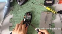 罗技M905 MX ANYWHERE鼠标拆解微动更换教程